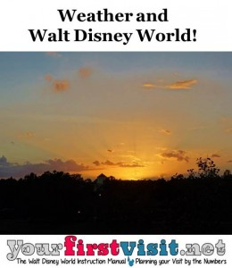 Weather and When to Go to Walt Disney World from yourfirstvisit.net