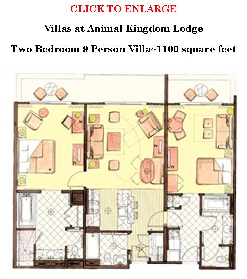Akl dvc value 2 bedroom villa wdwmagic unofficial walt - 3 bedroom grand villa disney animal kingdom ...