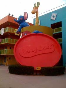 Play-Doh at Disney's Pop Century Resort