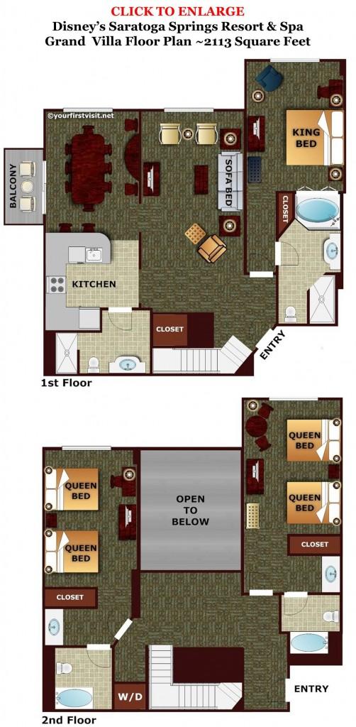 Saratoga Springs  Bedroom Villa Price