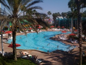 Surfboard Bay Pool at Disney's All-Star Sports Resort