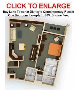 Introduction to the comfortable guide to walt disney world for Bay lake tower 2 bedroom villa