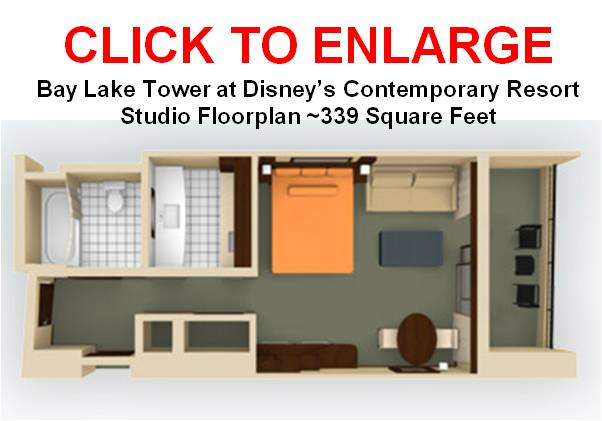 Bay Lake Tower Studio Floor Plan: Blt Studio For Family Of 4?