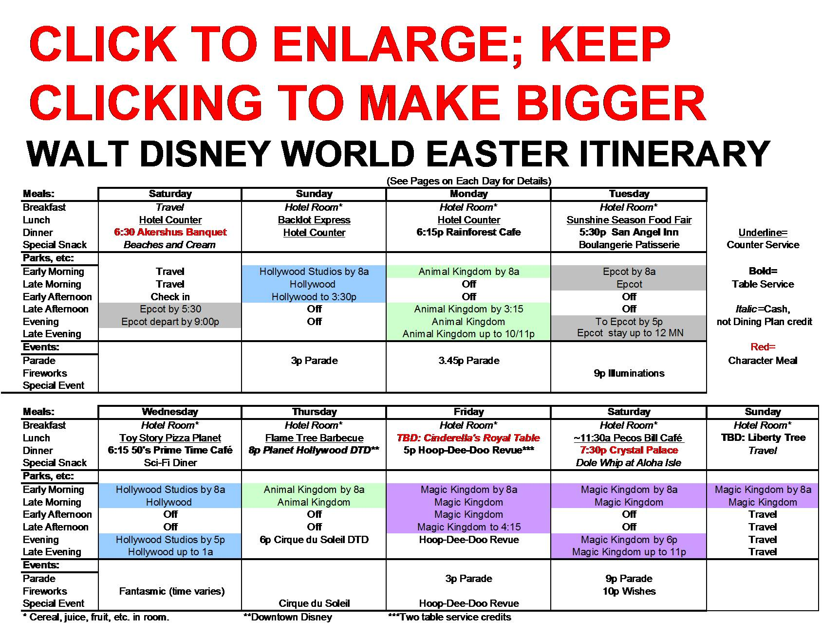 pin disney world itinerary template image search results on pinterest. Black Bedroom Furniture Sets. Home Design Ideas