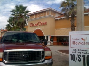 Winn-Dixie in the Tightwad's Guide to Walt Disney World