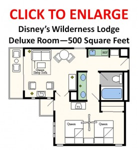 Floor Plans Of Walt Disney World Resort Hotels