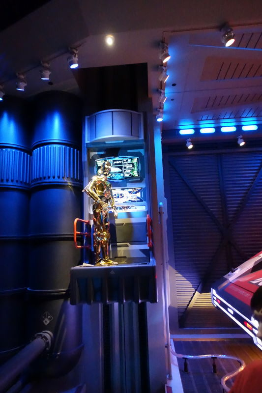 Star Tours Ride Motion Sickness