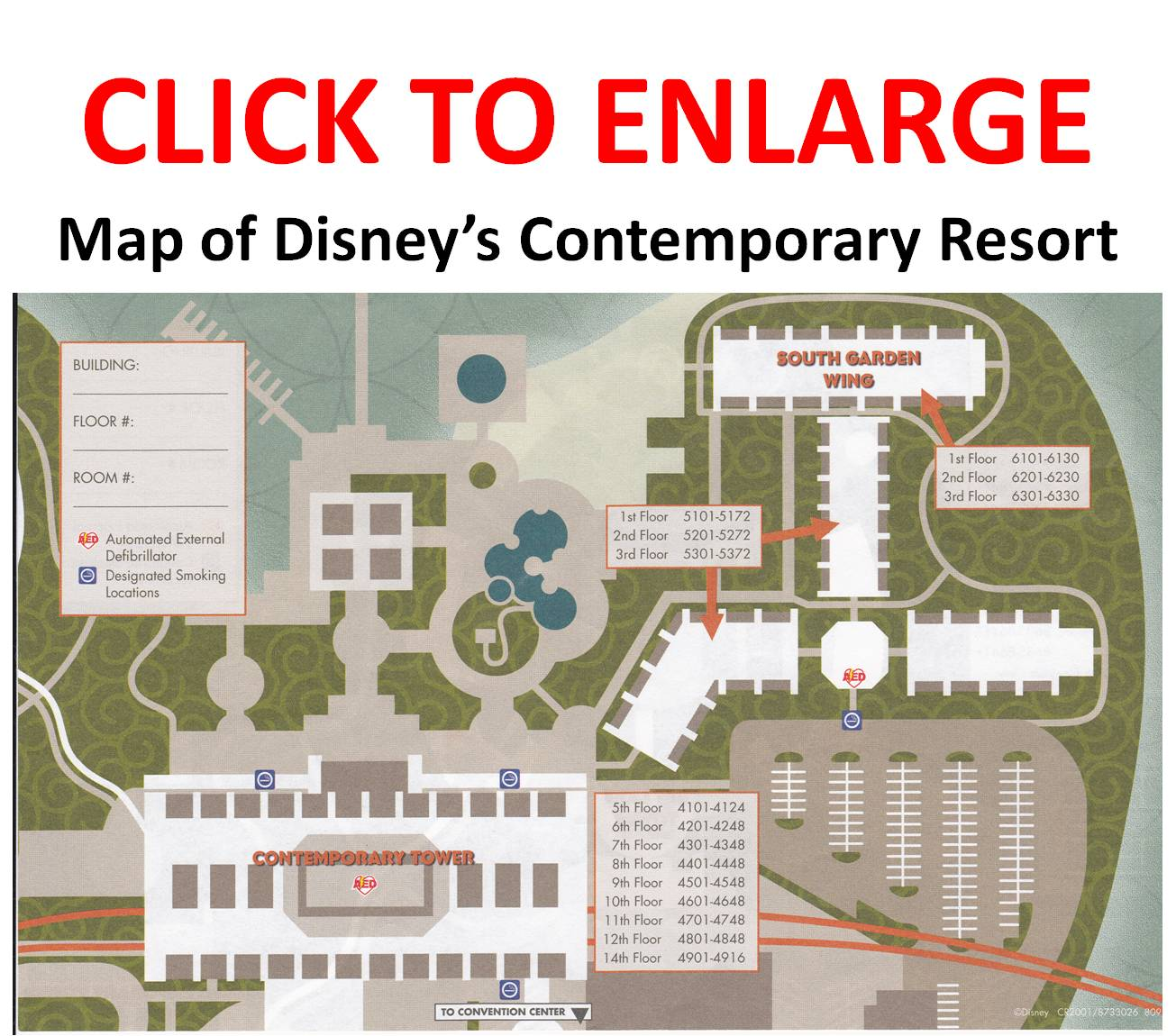 Contemporary Main Building Vs Contemporary Garden Wing The Dis Disney Discussion Forums