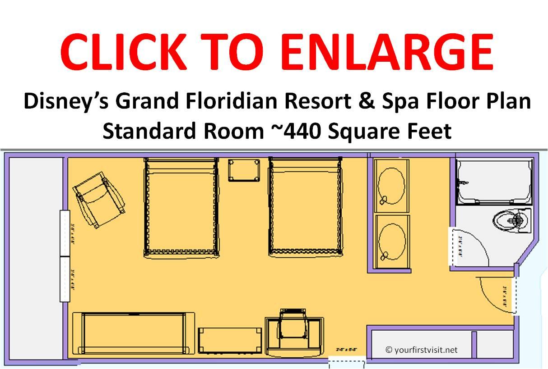 Disney 39 S Grand Floridian Floor Plan