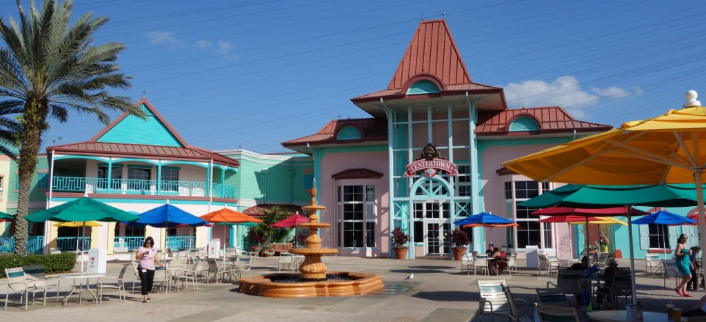 Centertown Disney's Caribbean Beach Resort from yourfirstvisit.net