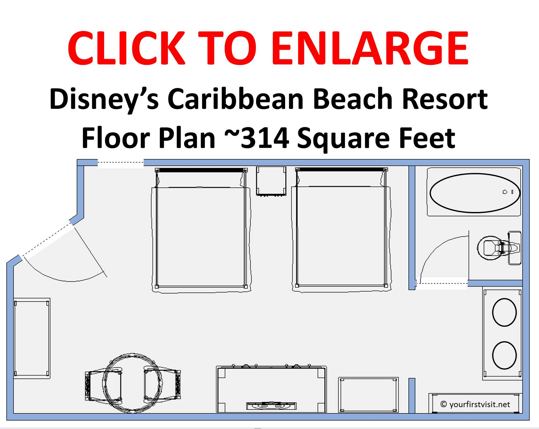 Review: Disney's Caribbean Beach Resort