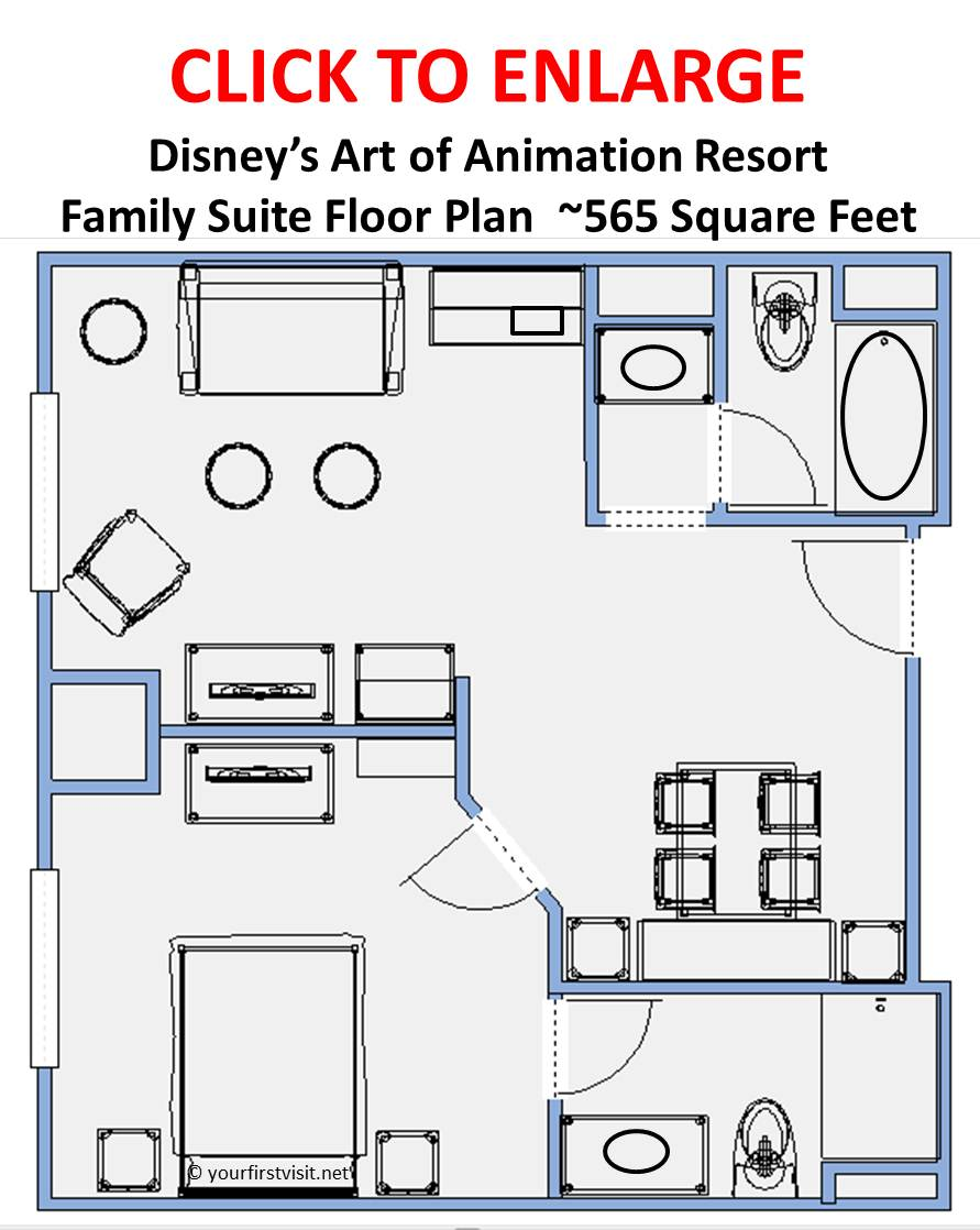 family suites at disney s art of animation resort a review