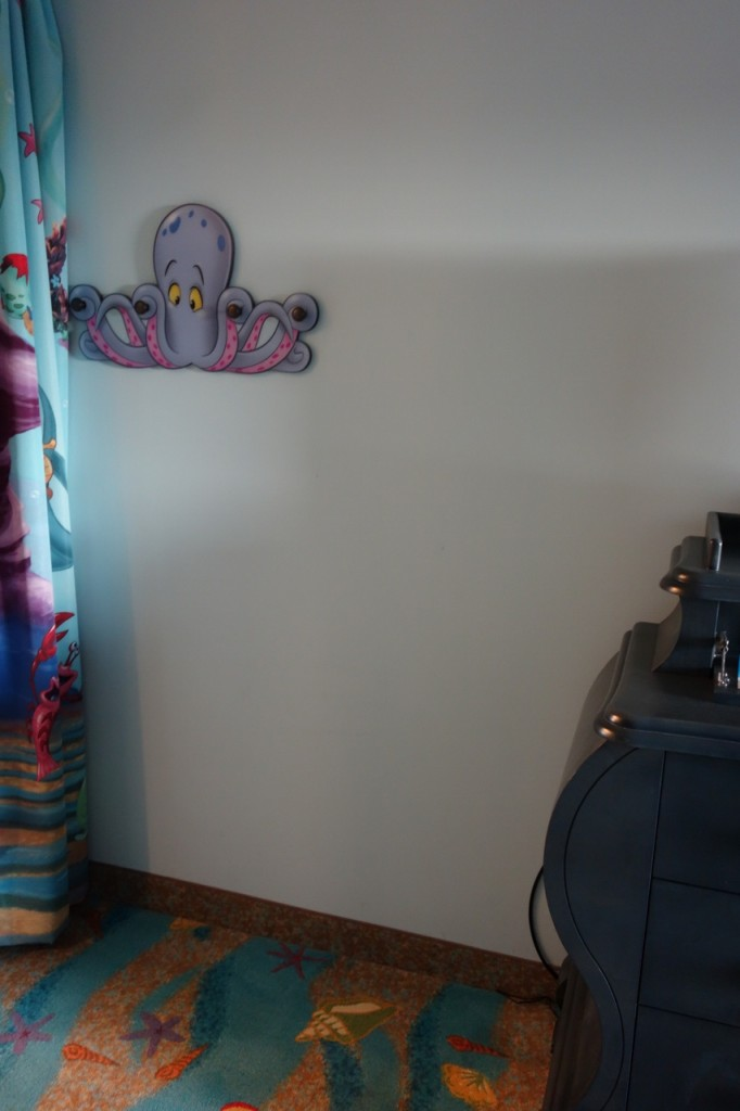 Wall Space Little Mermaid Art of Animation Room from yourfirstvisit.net