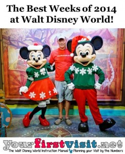 Best Weeks at Disney World in 2014 Ranked in Order from yourfirstvisit.net