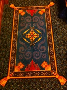 Disney's Port Orleans Riverside Royal Room Carpet