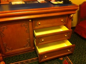 Disney's Port Orleans Riverside Royal Room Drawers