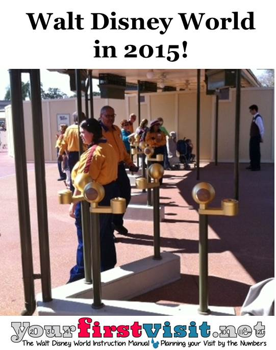 Walt Disney World in 2015 from yourfirstvisit.net