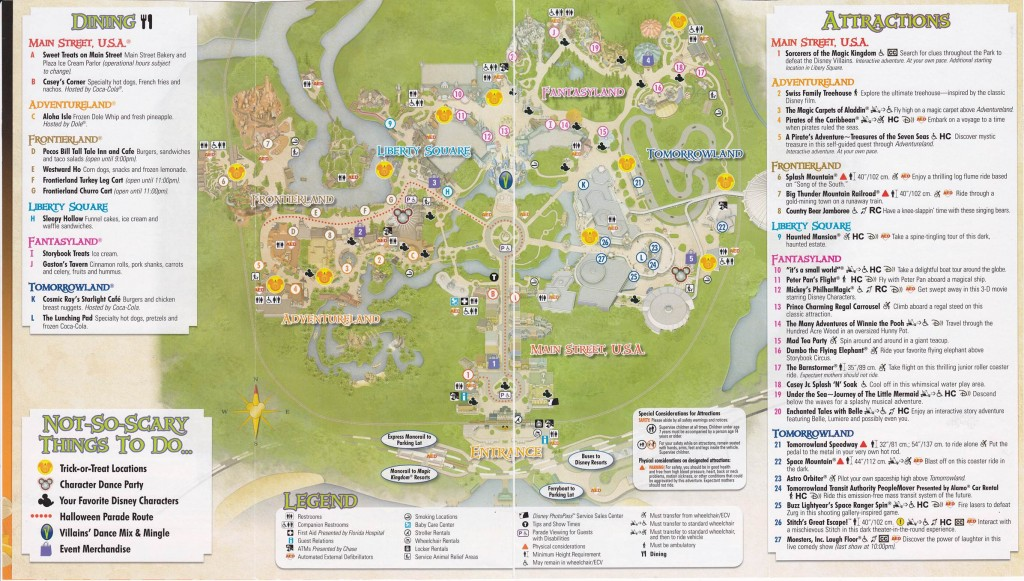 MNSSHP 2013 Brochure Map from yourfirstvisit.net