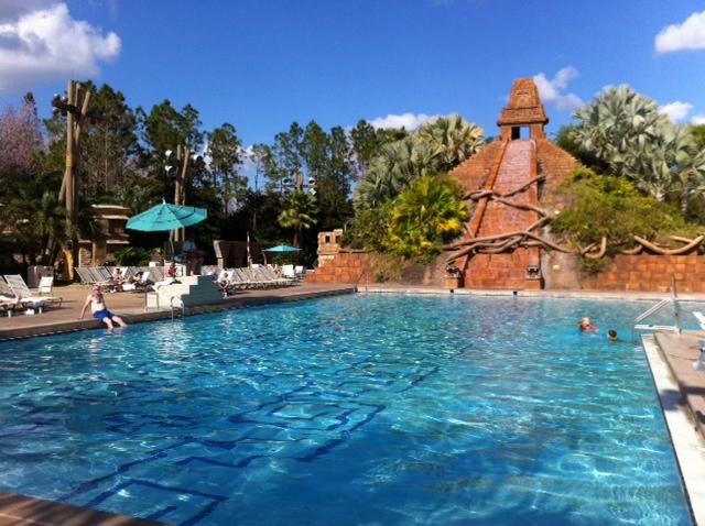 Main Pool Disney S Caribbean Beach Resort