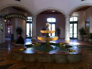 Lobby at Disney's Coronado Springs Resort