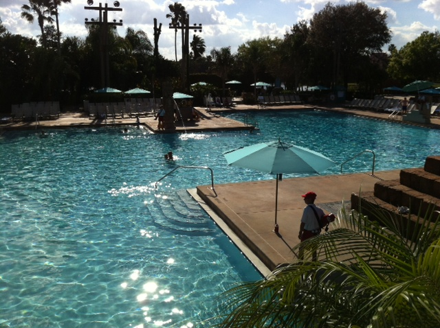 Main Pool 2 at Disney's Coronado Springs Resort