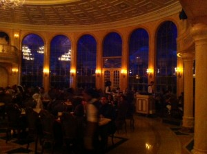 The Ballroom at Be Our Guest Restaurant at the Magic Kingdom
