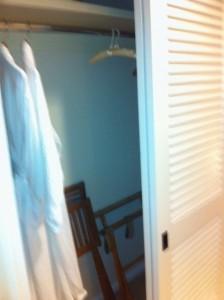 Closet at Loews Portofino Bay Resort at Universal Orlando