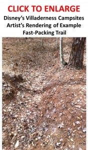 Fastpacking Trail at the New Disney Vacation Club Offering--Disney's Villaderness Campsites