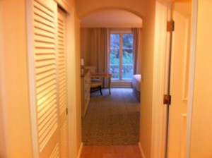 Hall and Closet at Loews Portofino Bay Resort at Universal Orlando