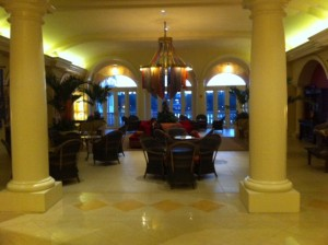 Lobby Lounge at Loews Portofino Bay Hotel at Universal Orlando