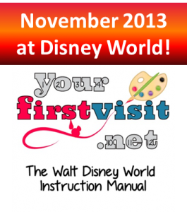 November 2013 at Walt Disney World from yourfirstvisit.net