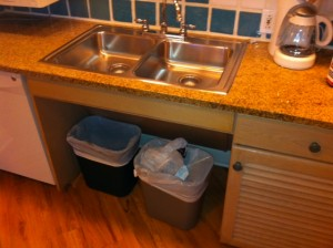 Accessible Kitchen Sink and Counters Disney's Old Key West Resort