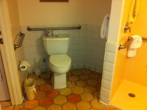 Accessible Toilet Disney's Old Key West Resort