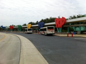 Bus Stop at Disney's Pop Century Resort