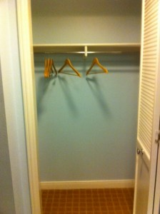 Disney's Old Key West Resort  Bedroom 2 Closet