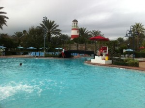 Disney's Old Key West Resort Main Pool in Daylight Sorta