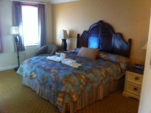 Disney's Old Key West Resort Master Bed Side