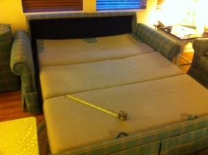 Disney's Old Key West Resort Sofa Bed