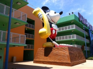 Mickey Phone at Disney's Pop Century Resort