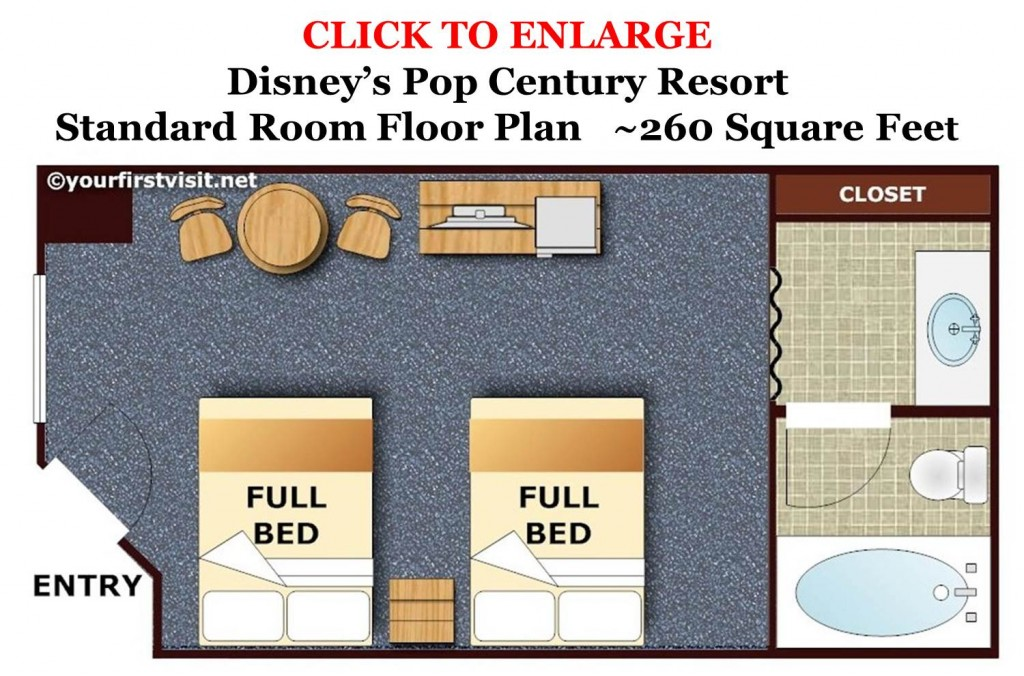 Pop Century Floor Plan from yourfirstvisit.net