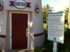 Sauna Disney's Old Key West Resort