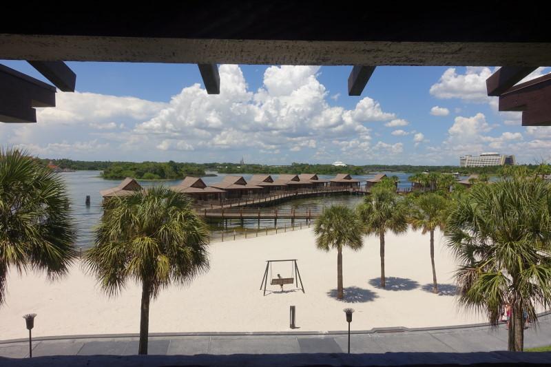 Balcony View Disney's Polynesian Village Resort from yourfirstvisit.net