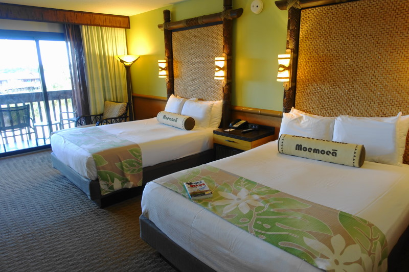 Bed Side Disney's Polynesian Village Resort from yourfirstvisit.net