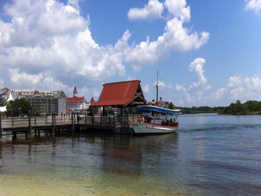 Boat Dock at Disney's Polynesian Resort