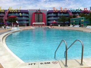Bowling Pin Quiet Pool at Disney's Pop Century Resort
