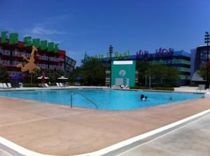 Computer Quiet Pool at Disney's Pop Century Resort
