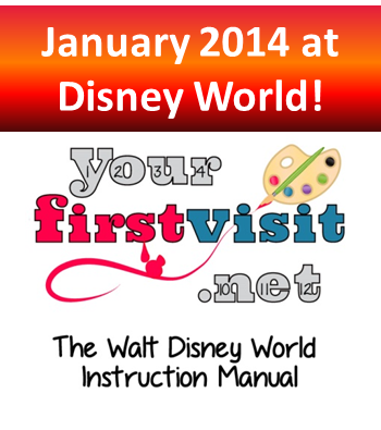 January 2014 at Walt Disney World from yourfirstvisit.net