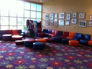 Kid Lobby Area at Disney's Pop Century Resort