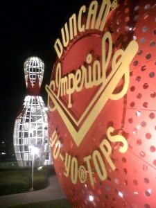 Yo-Yo and Bowling Pin Stairs at Disney's Pop Century Resort