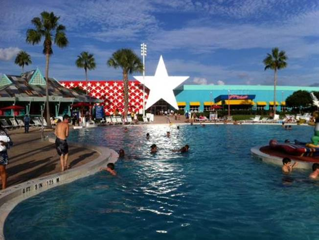 Main Pool at Disney's All-Star Music Resort